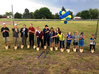 Ground Breaking 8/15/2014